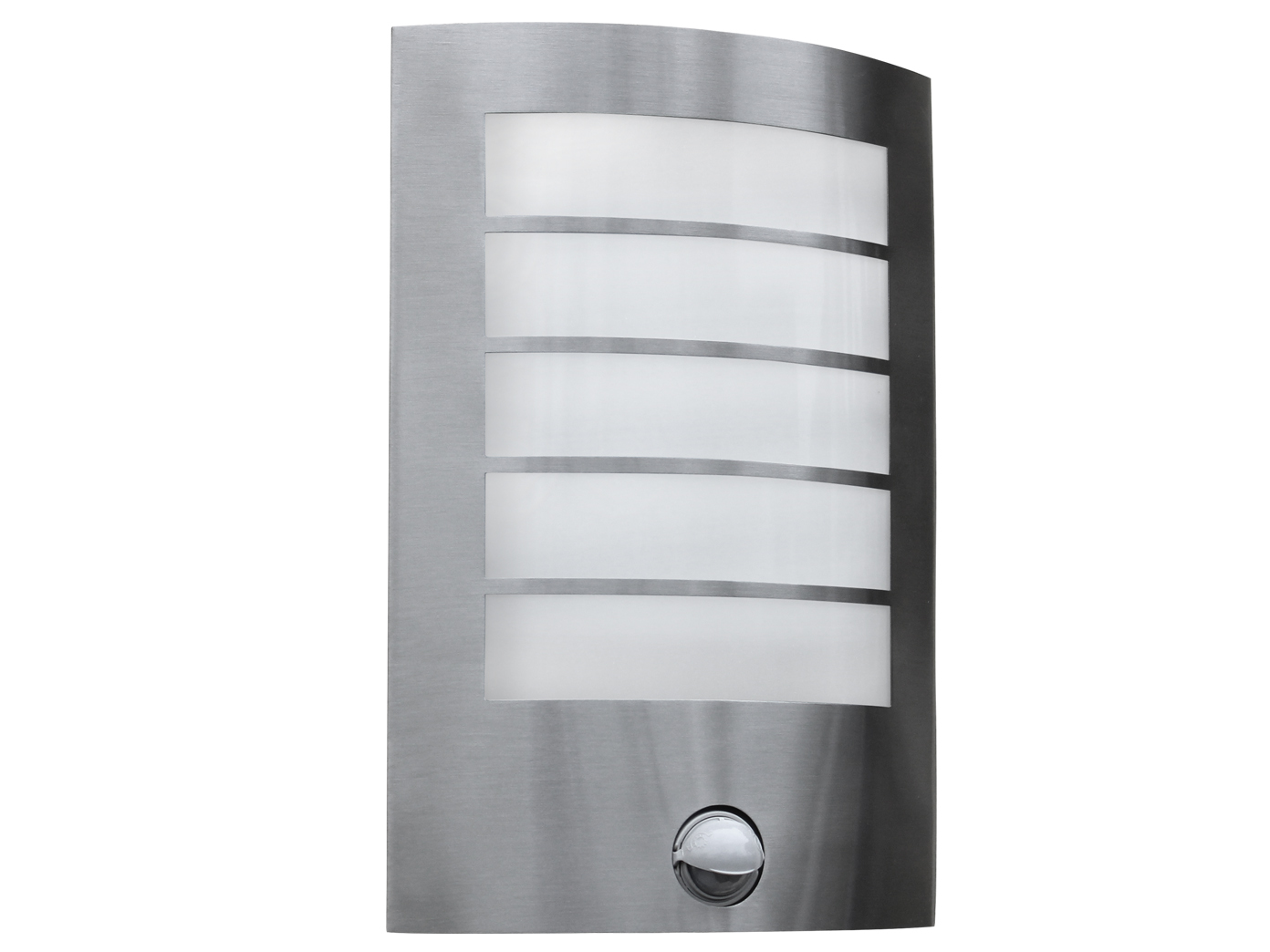 Top Edelstahl Außenwandleuchte mit Bewegungsmelder LED Wandleuchte IO56