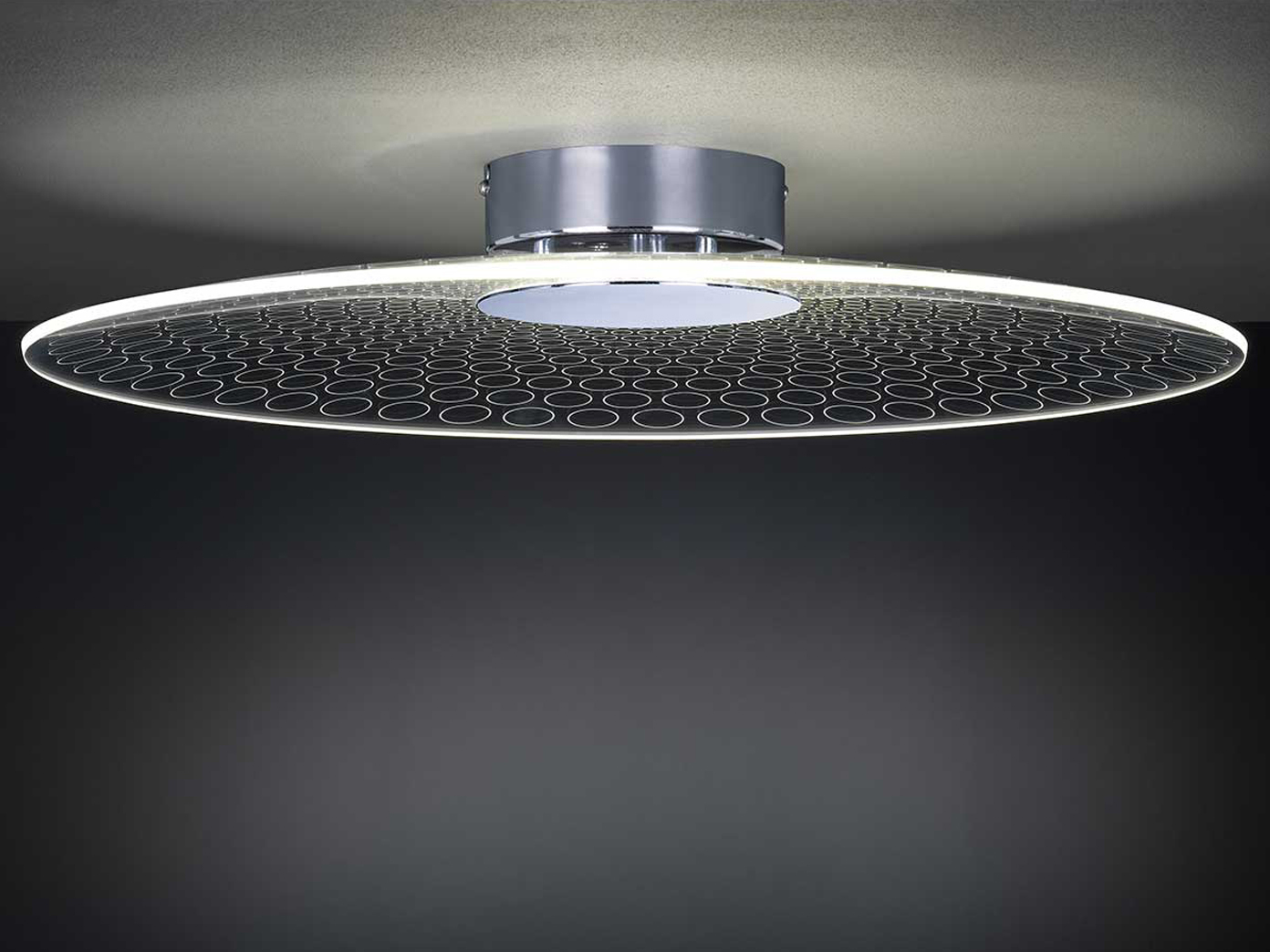 design deckenleuchte 49cm 15 watt led deckenbeleuchtung. Black Bedroom Furniture Sets. Home Design Ideas