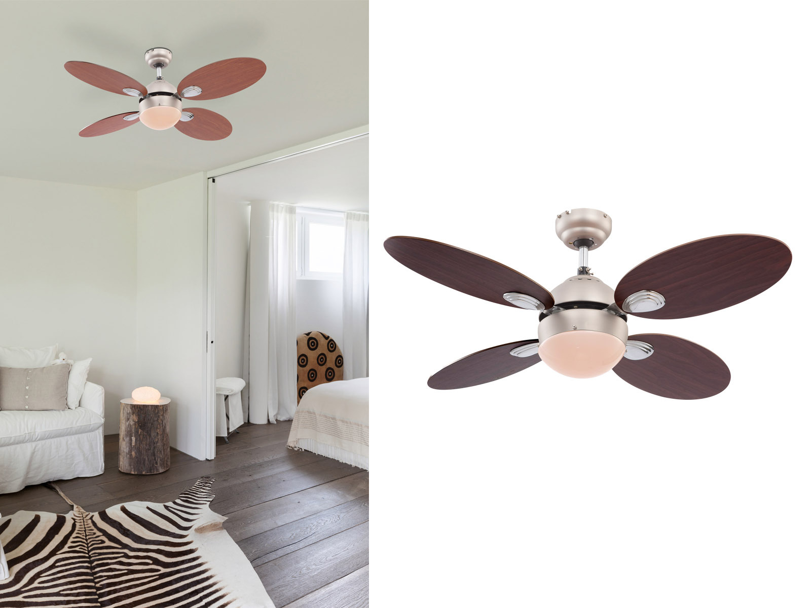 Deckenventilator Mit Lampe: Amazon Willsego Home Hotel