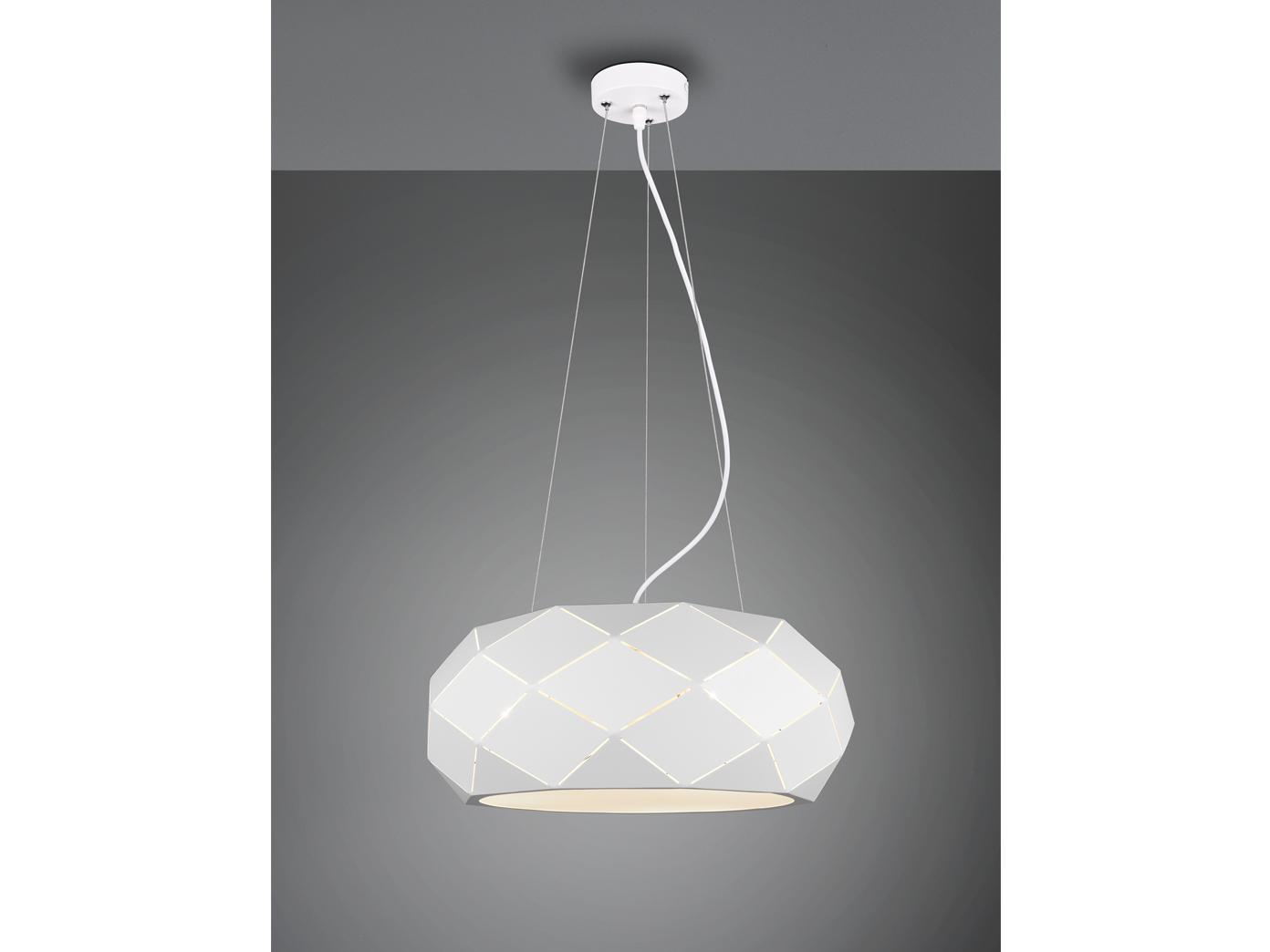 Geometrische LED Pendelleuchten, Lampen hängend über Wohnzimmer Couchtisch  rund