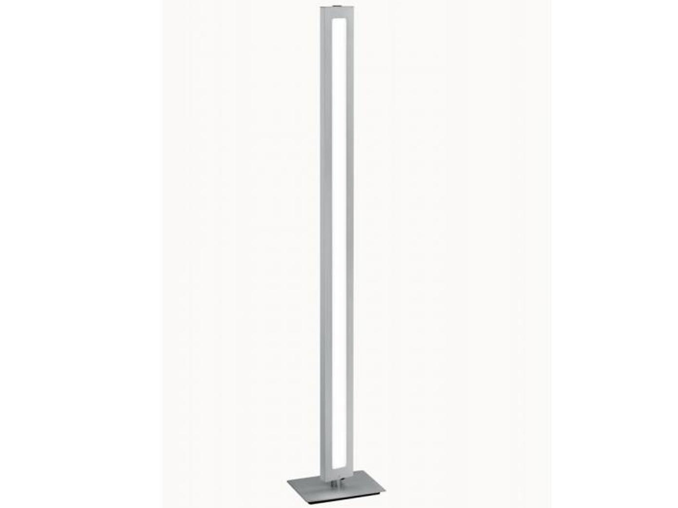 Wohnzimmerleuchte Standlampe dimmbar Trio Design LED Stehlampe SILAS mit Dimmer