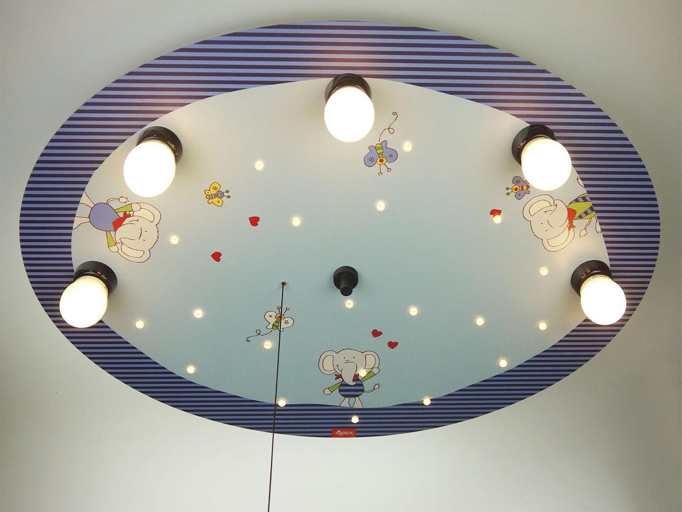 Led Sternenhimmel Mit Zugschalter Fur Schlummerlicht Led Kinder Deckenleuchte