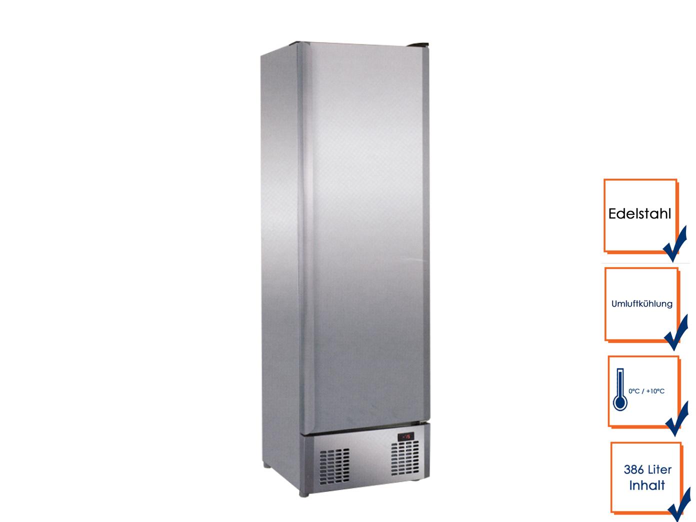 Gastro Edelstahl Kühlschrank Ohne Gefrierfach 0°C/10°C, Profi Freistehend 1  ...