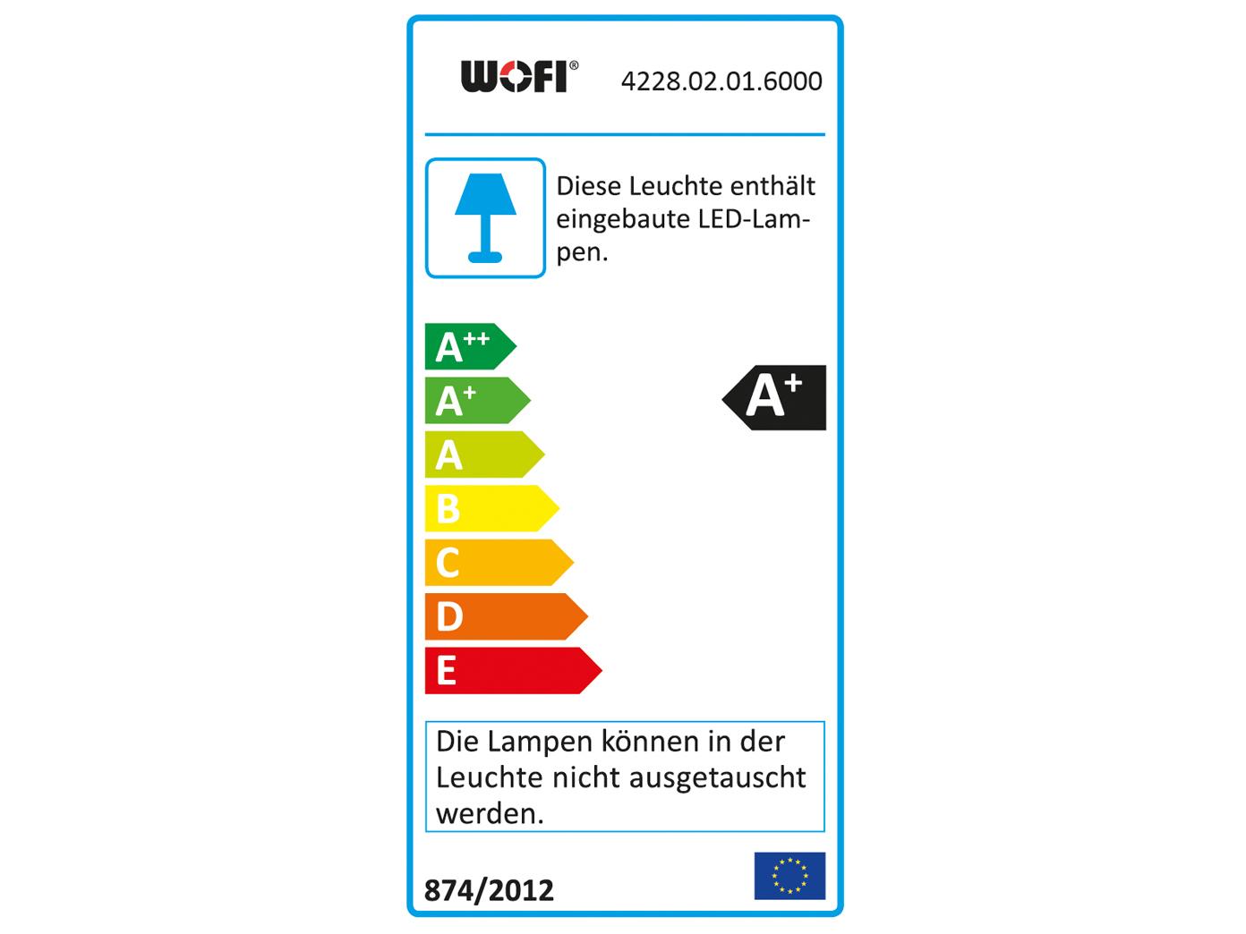 LED Wandlampe Wandstrahler Wandleuchte Lampe Spot Wofi 4228.02.01.6000