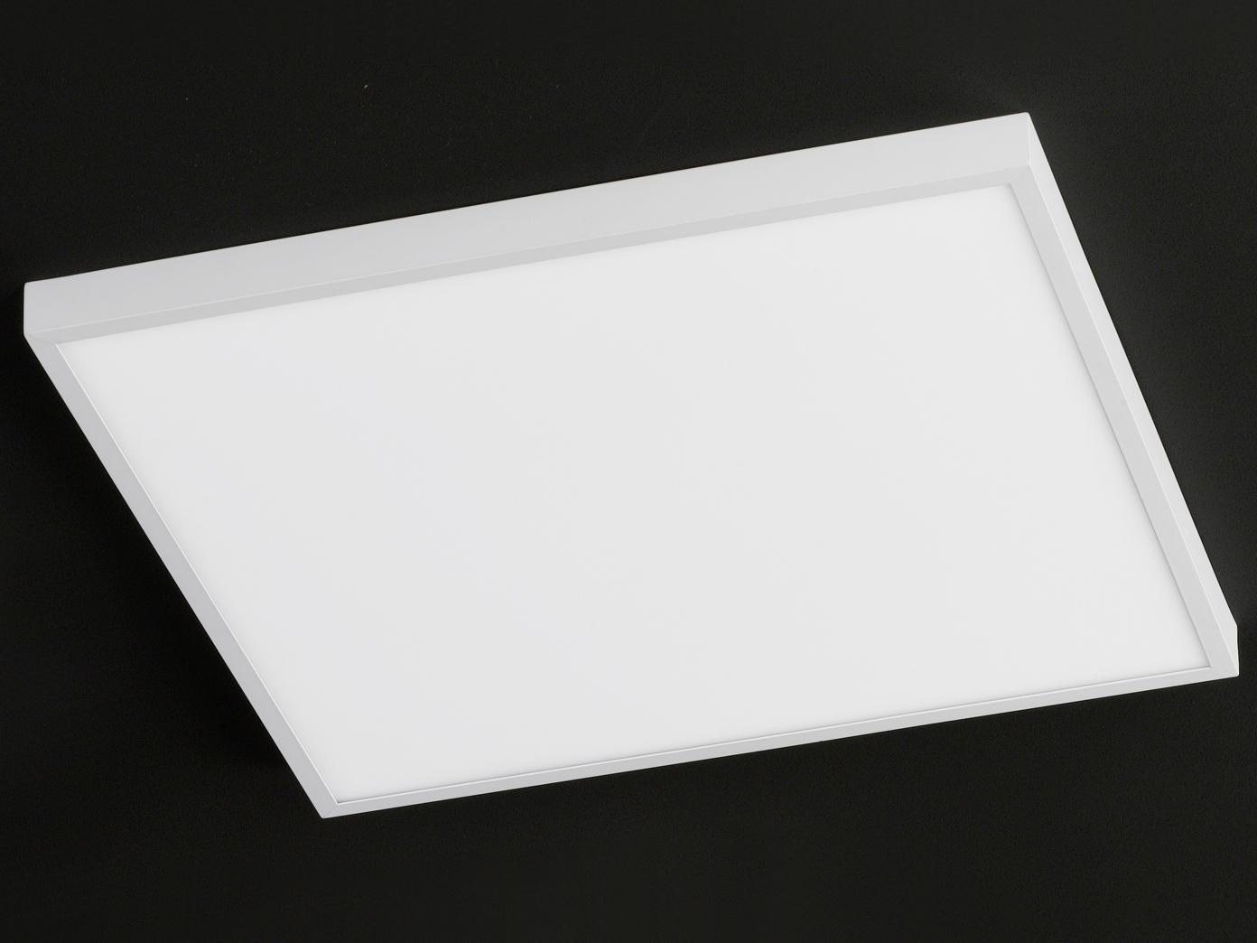 led deckenleuchte deckenlampe wei 60x60cm design modern. Black Bedroom Furniture Sets. Home Design Ideas