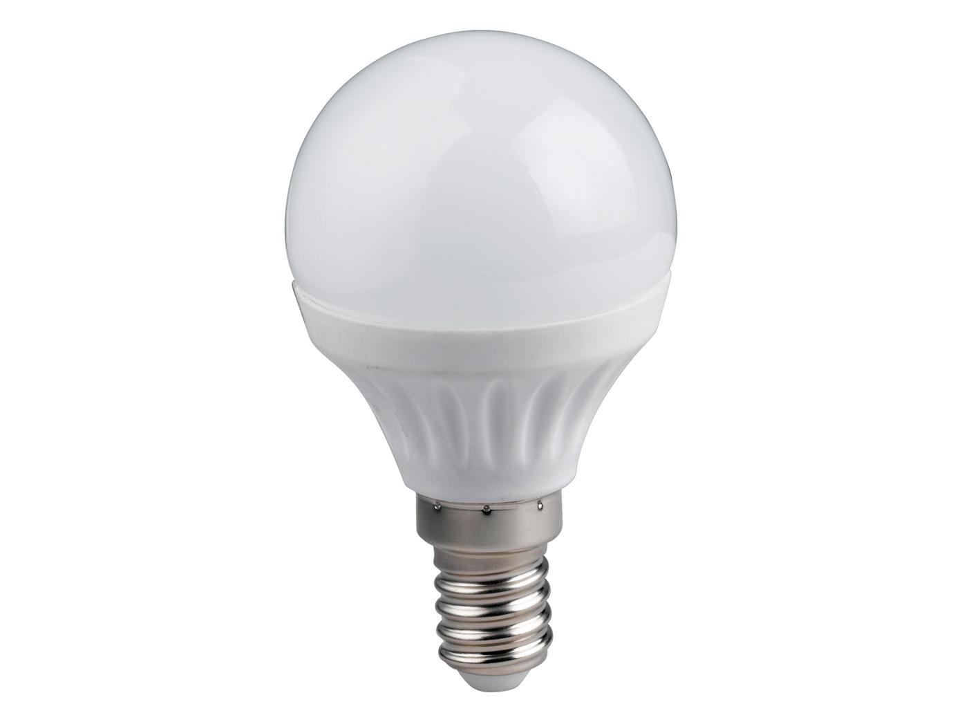 LED Leuchtmittel 5 Watt für E14 Fassung 400 Lumen warmeiß Ø3,7cm,extern dimmbar
