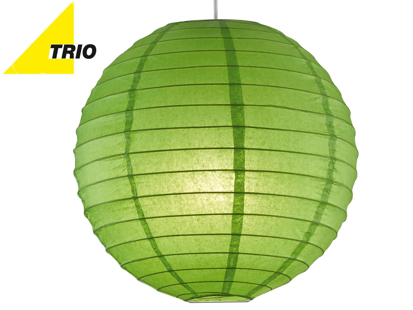 Ø 40cm LED Hängelampe Papier Japan-Kugel orange Lampion Leuchtmittel dimmbar