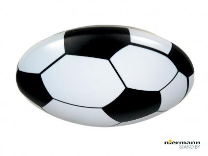 Deckenschale rund Ø35 cm Fussball Motiv Deckenleuchte für Kinderzimmer Jungen