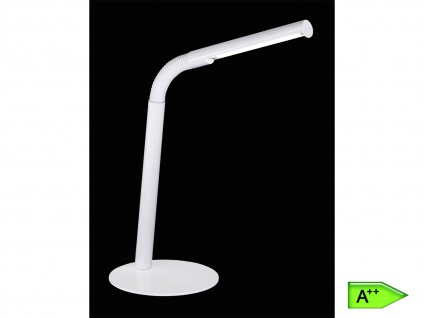 Trio LED Tischleuchte weiß, Flexgelenk, inkl. 1x3W LED, 160 Lumen