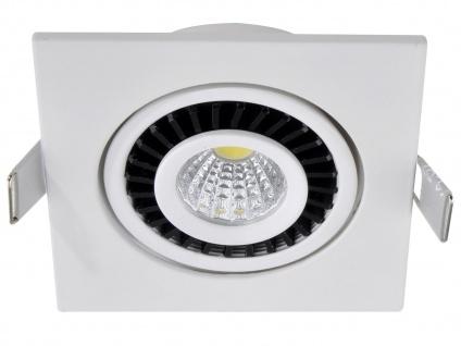 LED Einbaustrahler 3W Spot schwenkbar weiß Deckenstrahler Einbauleuchte Leuchte - Vorschau 2