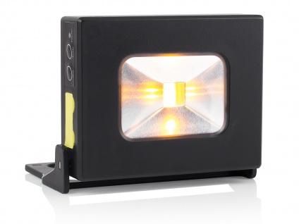 LED Mehrzwecklampe Akku als Powerbank nutztbar Magnet IP44 Handlampe Strahler - Vorschau 2