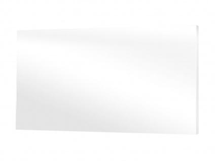 600W Glasheizpaneel, Infrarotheizung weiß, Glaspaneel ohne Rahmen, Vitalheizung - Vorschau 2