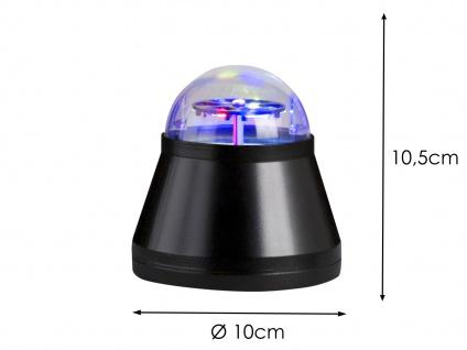 2x LED Tischleuchte / Nachtlicht projiziert Halloweenbilder Multicolor mit Motor - Vorschau 2