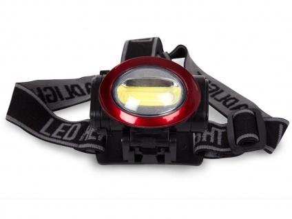 Helle LED Stirnlampe Kopfleuchte fürs Wandern, Trekking, Camping, Outdoor, Beruf - Vorschau 2