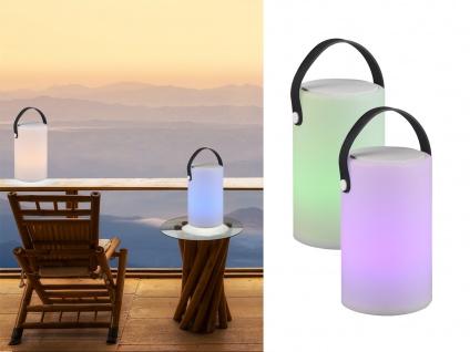 LED OUTDOOR Akku Tischleuchte mit Farbwechsel - Tischlampen kabellos ohne Strom