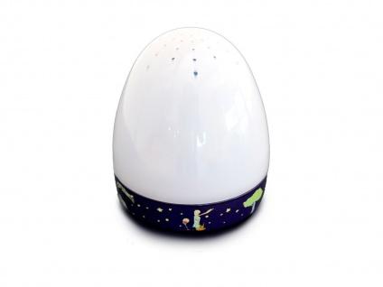 2er Set Magische Laterne KLEINER PRINZ LED Schlummerlicht Spieluhr Lichtspiel - Vorschau 3