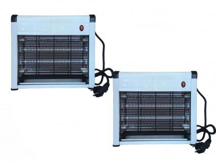 Praktische Insektenvernichter mit 8 Watt UV-Lampen, 2er Set Mückenfallen - Vorschau 3