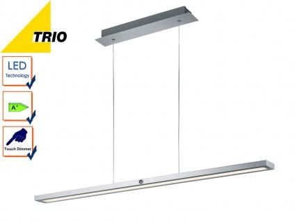 Trio LED Design Pendelleuchte SILAS dimmbar Touchdimmer, Hängeleuchte Esstisch