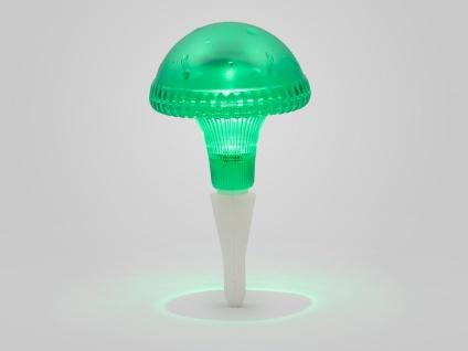 LED Solarleuchte / Gartenleuchte ASSISI, IP44, grün, Höhe 27, 5 cm - Vorschau 2
