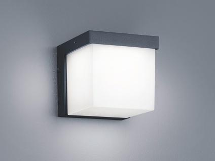LED Außenwandleuchte, Terrassenbeleuchtung Wand, Design Würfel, Außenleuchte