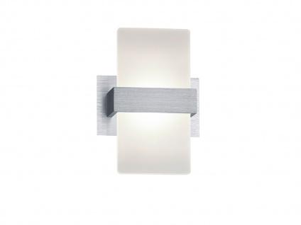 Trio LED Wandleuchte PLATON 13x18cm mit Schalter, Wandlampe Flur Wohnzimmer - Vorschau 3
