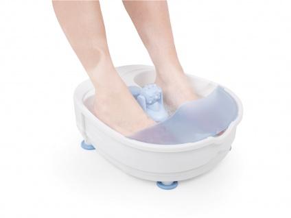 Fußbad mit Vibrations-und Sprudelmassage und 3 einstellbaren Leistungsstufen - Vorschau 3