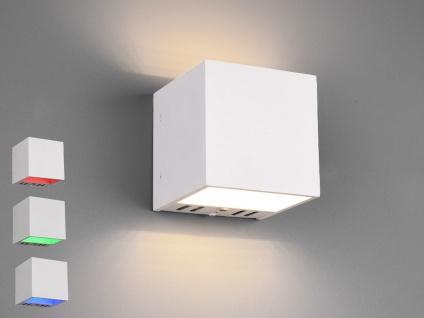 WIZ LED Wandleuchte Würfel Weiß - Up and Downlight mit Fernbedienung & Handy App