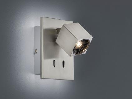 LED Wandlampe 1fl. mit indirekter Beleuchtung in weiß matt Spot schwenkbar