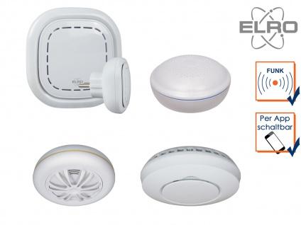 SMART HOME Sicherheit Haussteuerung per Smartphone Rauch, Hitze & Wasser Melder