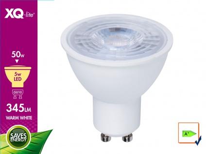 LED Leuchtmittel 5W warmweiß, 345 Lumen, GU10 / PAR16, 3000 Kelvin