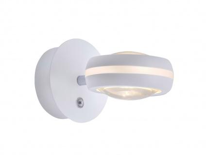 WIZ LED Wandleuchte in Weiß matt mit Alexa oder App steuern - fürs Wohnzimmer - Vorschau 2