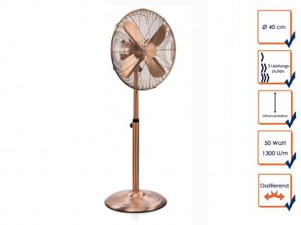Großer Oszillierender Retro Stehventilator ? Zimmerventilator Windmaschine