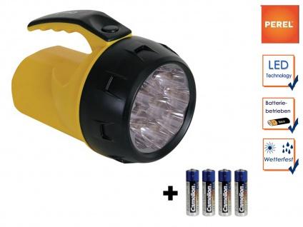 LED Handscheinwerfer wetterfeste Arbeitsleuchte, Outdoor Taschenlampe Handlampe