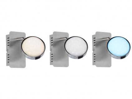 2er Set LED Wandlampe STER, dimmbar, 3000-6500K, Fernbedienung, Wandleuchte Spot - Vorschau 5