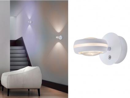 WIZ LED Wandleuchte in Weiß matt mit Alexa oder App steuern - fürs Wohnzimmer