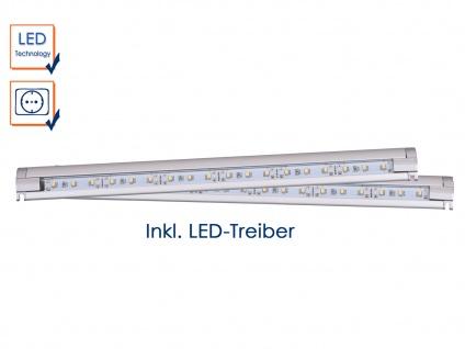 2 x LED-Schrankleuchte mit IR-Schalter/Bewegungssensor, inkl. LED-Treiber