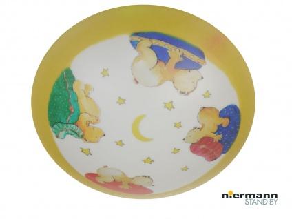 Deckenschale rund Ø 45cm mit lustigen Bärchen Motiv Deckenleuchte Kinderzimmer
