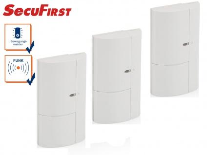 3er Set Zusatz Fenster Türen Magnetkontakte für SecuFirst Alarmsystem ALM314S