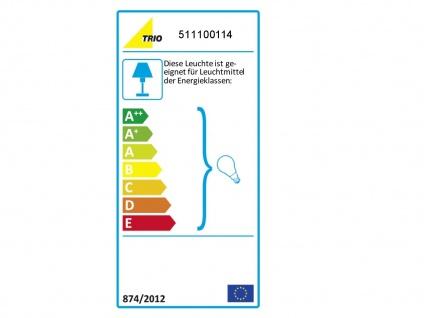 Design LED Tischlampen mit Stoffschirm rund braun Ø30cm - fürs Wohnzimmerlampen - Vorschau 3