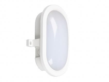 LED Wandleuchte Außenleuchte weiß, 450 Lumen, 4000 Kelvin, IP44 - Vorschau 2