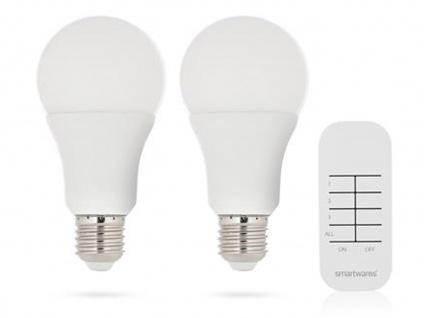 Dimmbare E27 LED Leuchtmittel mit Fernbedienung, Glühbirnen Beleuchtung Wohnraum
