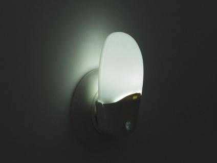 2er Set LED Nachtlichter weiß OVAL Dämmerungsauotmatik Nachtlampe Kinderzimmer - Vorschau 3