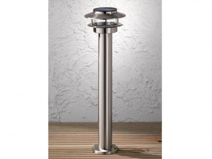 LED Solarleuchte Wegeleuchte 50cm, Gartenlampe Solar Außenbeleuchtung IP44 - Vorschau 3