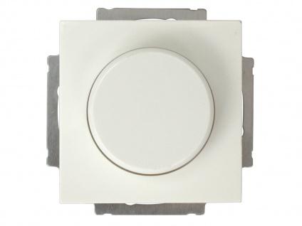Einsatz Helligkeitsregler / Dimmer aus Kunststoff in Weiß, eckig GAO