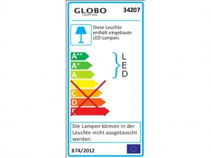 Globo LED Außenleuchte Edelstahl, Wegeleuchte Pollerleuchte Außenbeleuchtung - Vorschau 4