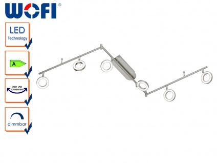 6-flammige LED Deckenleuchte NAOMI, Spots schwenkbar, Strahler Deckenstrahler