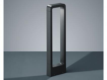 LED Sockelleuchten in Anthrazit 50cm - 2er Set Wegeleuchten Terrassenbeleuchtung - Vorschau 5