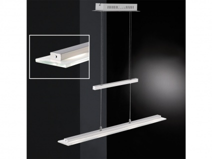 LED Hängeleuchte höhenverstellbar & Lichtfarbe dimmbar Länge 64 cm Esstischlampe
