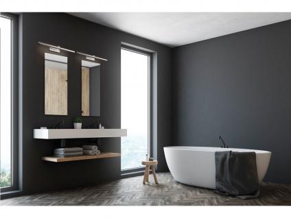 2er Set schwenkbare LED Badezimmerwandleuchten Spiegellampe 90cm, Badbeleuchtung - Vorschau 5