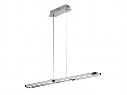 LED Pendelleuchte für Innen mit 3 Stufen Switch Dimmer, Metall Nickel matt, A+ - Vorschau 2